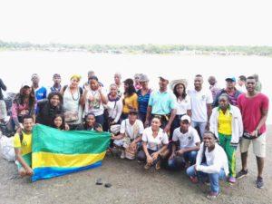 Delegación chocoana que viajó a Bajirá el 3 de noviembre, día del 69 cumpleaños del departamento.