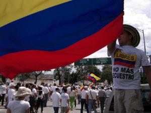 4 Marcha contra las Farc en Medellin