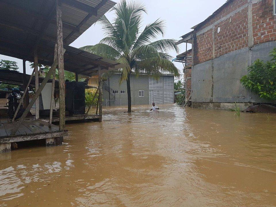 Chocquibtown lidera campaña para ayudar a su región natal asolada por lluvias