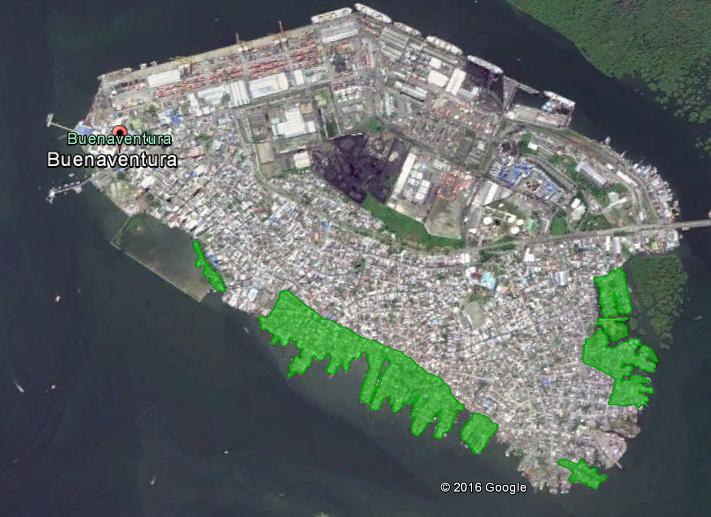 Tierras ganadas al mar. Elaborado con base en testimonios locales. / Felipe Chica