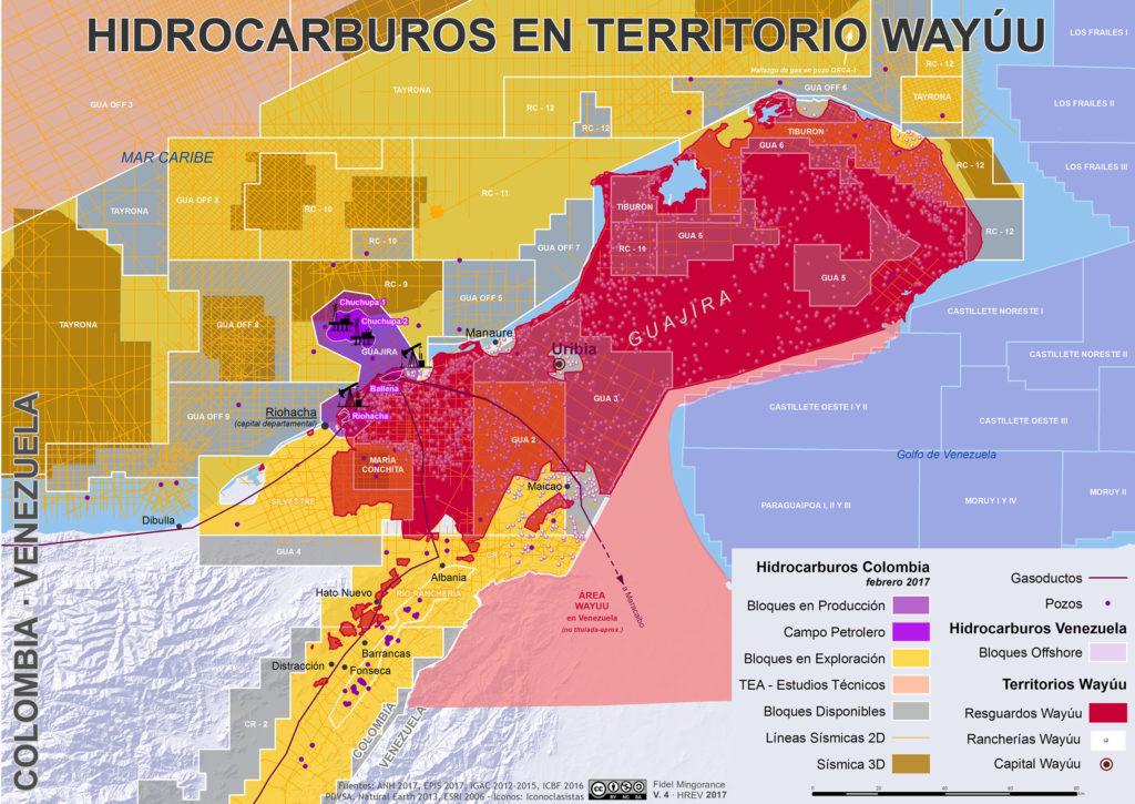 Hidrocarburos La Guajira 2017