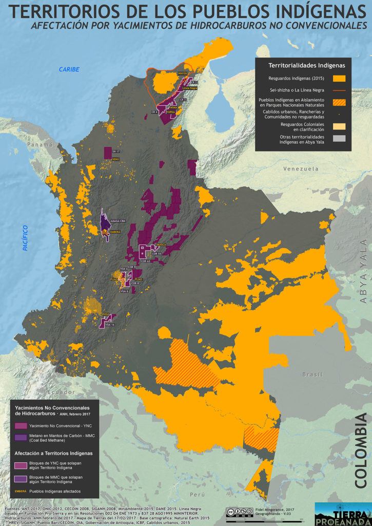 Territorios Indigenas y fracking 0217